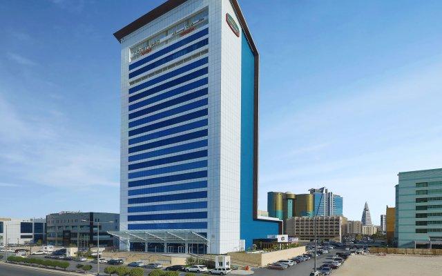 Отель Courtyard by Marriott Riyadh Olaya вид на фасад