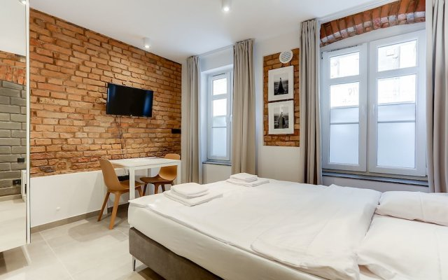 Отель RentPlanet - Apartamenty Rybaki 33 Познань комната для гостей