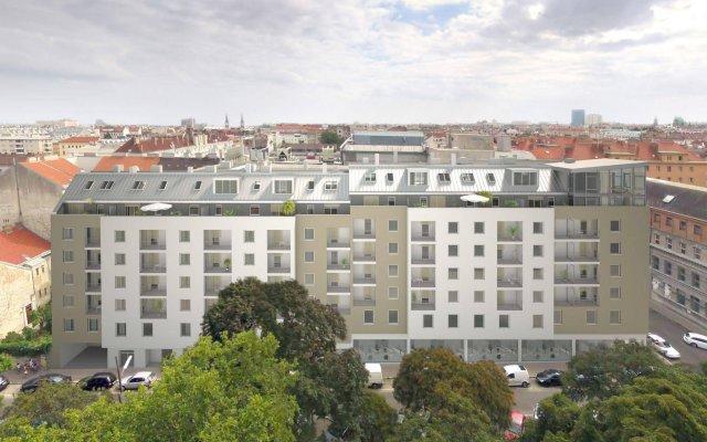 Отель SKY9 Penthouse Apartments Австрия, Вена - отзывы, цены и фото номеров - забронировать отель SKY9 Penthouse Apartments онлайн вид на фасад