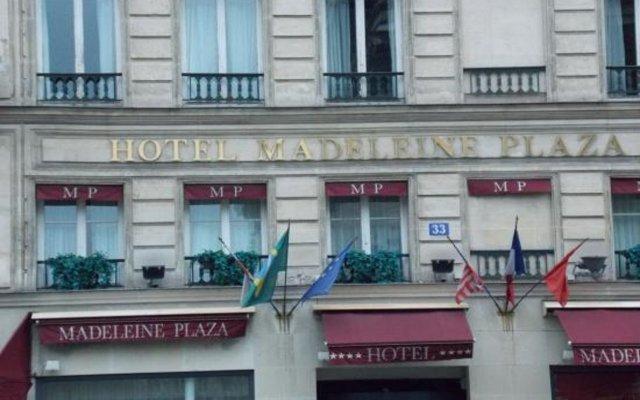 Отель Madeleine Plaza Париж вид на фасад