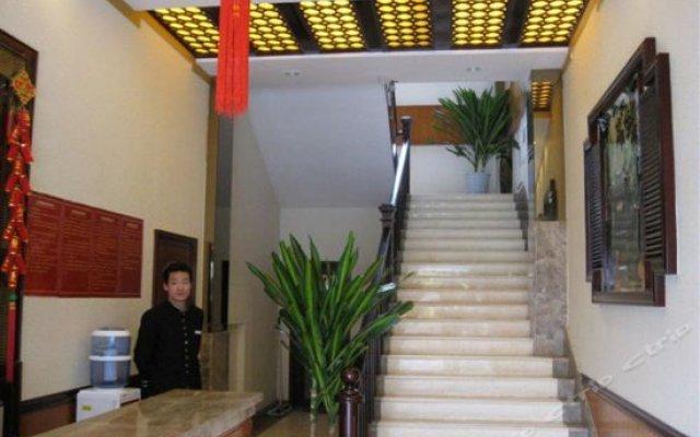 Dujiangyan Jin An Hostel интерьер отеля
