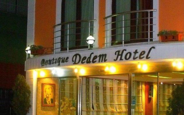 Dedem Boutique Hotel Стамбул вид на фасад