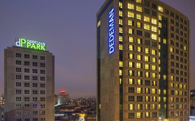 Отель Dedeman Bostanci вид на фасад