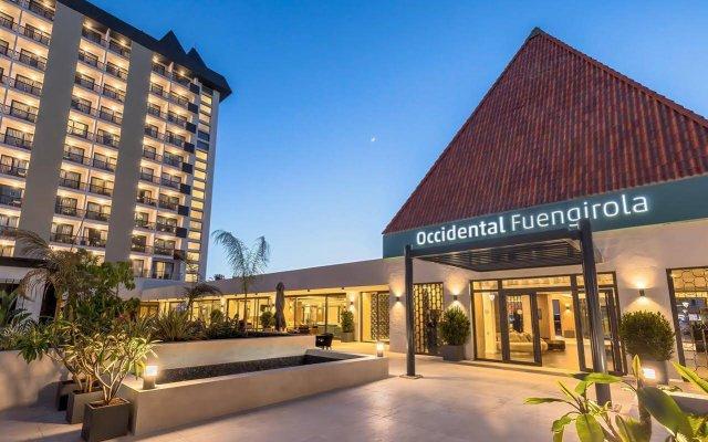 Отель Occidental Fuengirola Фуэнхирола вид на фасад