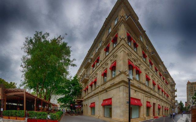 Отель Boulevard Apartments& Residences Азербайджан, Баку - отзывы, цены и фото номеров - забронировать отель Boulevard Apartments& Residences онлайн вид на фасад