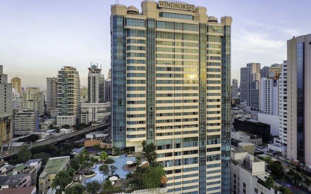 Отель Windsor Suites And Convention Бангкок вид на фасад