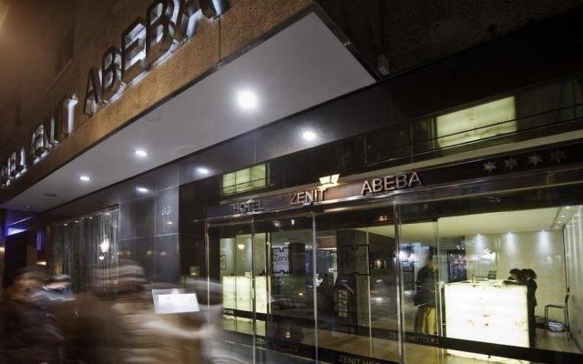 Отель Zenit Abeba Madrid вид на фасад