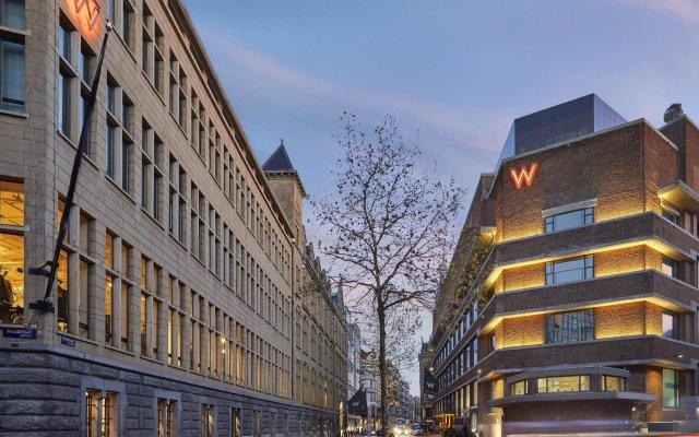 Отель W Amsterdam вид на фасад