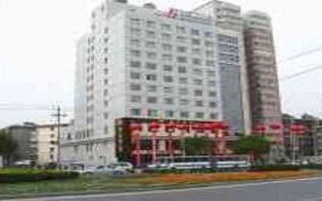 Jinjiang Inn Xi'an South Second Ring Gaoxin Hotel вид на фасад