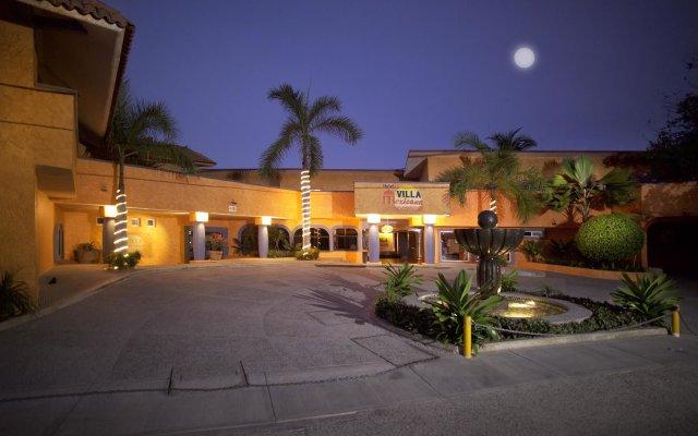 Hotel Villa Mexicana вид на фасад