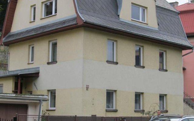 Отель Apartement Mergl вид на фасад