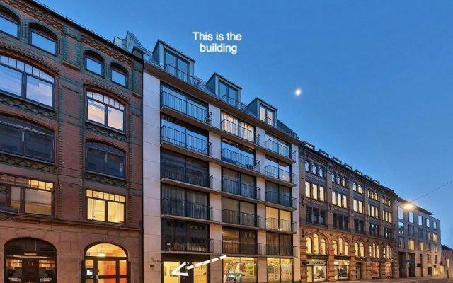 Апартаменты Fredrik's Apartment in Oslo Centre вид на фасад