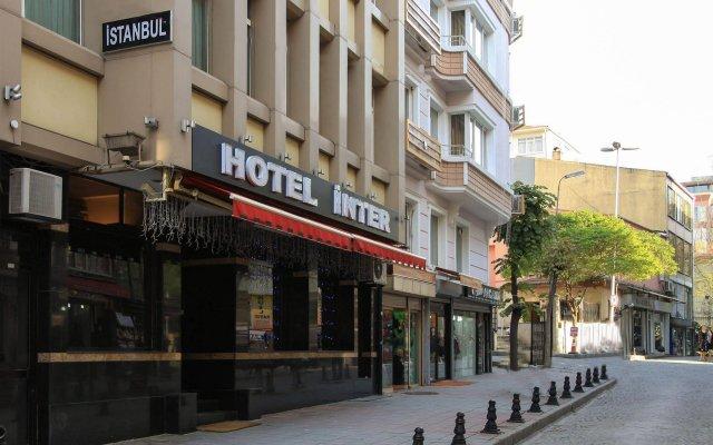 Inter Hotel вид на фасад