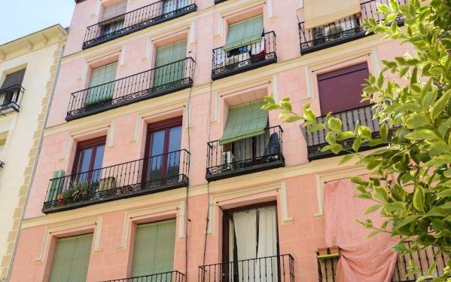 Отель Charming Reina Sofia Мадрид вид на фасад