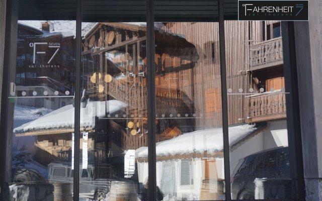 Отель Mercure Val Thorens вид на фасад