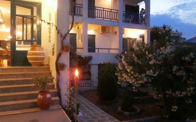 Отель Flisvos Греция, Агистри - отзывы, цены и фото номеров - забронировать отель Flisvos онлайн вид на фасад
