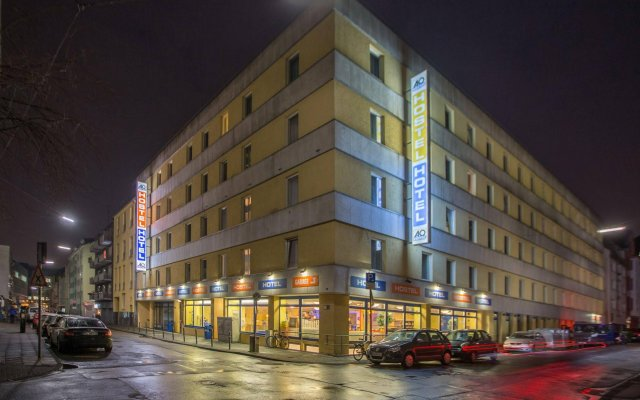 Отель a&o Köln Neumarkt Германия, Кёльн - 13 отзывов об отеле, цены и фото номеров - забронировать отель a&o Köln Neumarkt онлайн вид на фасад