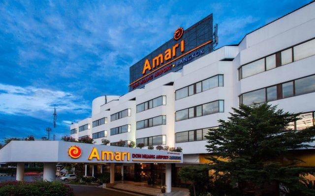 Отель Amari Don Muang Airport Bangkok Таиланд, Бангкок - 11 отзывов об отеле, цены и фото номеров - забронировать отель Amari Don Muang Airport Bangkok онлайн вид на фасад