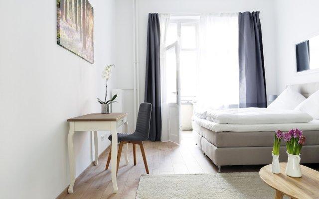 Апартаменты RockChair Apartment Blissestraße Берлин комната для гостей
