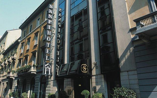 Отель Sanpi Milano Италия, Милан - 7 отзывов об отеле, цены и фото номеров - забронировать отель Sanpi Milano онлайн вид на фасад