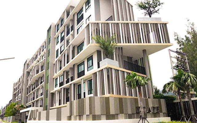 Отель Zcape 2 Residence by AHM Asia Пхукет вид на фасад