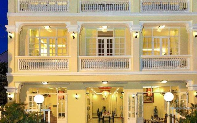 Отель Champa Hoi An Villas Вьетнам, Хойан - отзывы, цены и фото номеров - забронировать отель Champa Hoi An Villas онлайн вид на фасад