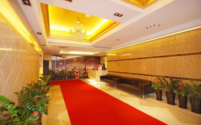 Отель Guangzhou Grand View Golden Palace Apartment Китай, Гуанчжоу - отзывы, цены и фото номеров - забронировать отель Guangzhou Grand View Golden Palace Apartment онлайн интерьер отеля
