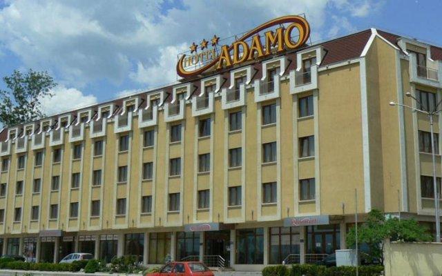 Отель Adamo Hotel Болгария, Варна - отзывы, цены и фото номеров - забронировать отель Adamo Hotel онлайн вид на фасад