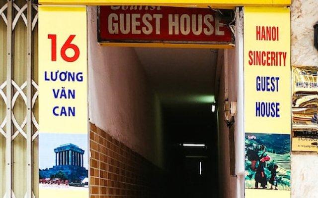 Отель Hanoi Sincerity Guest House Ханой вид на фасад
