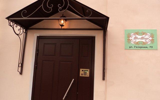 Гостиница Дом Бенуа вид на фасад