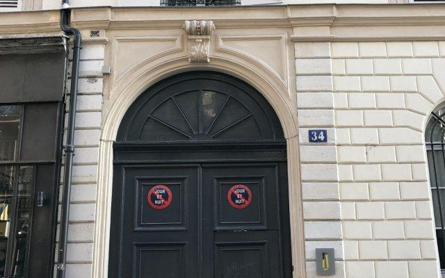 Отель 1er Etage SoPi Франция, Париж - отзывы, цены и фото номеров - забронировать отель 1er Etage SoPi онлайн вид на фасад