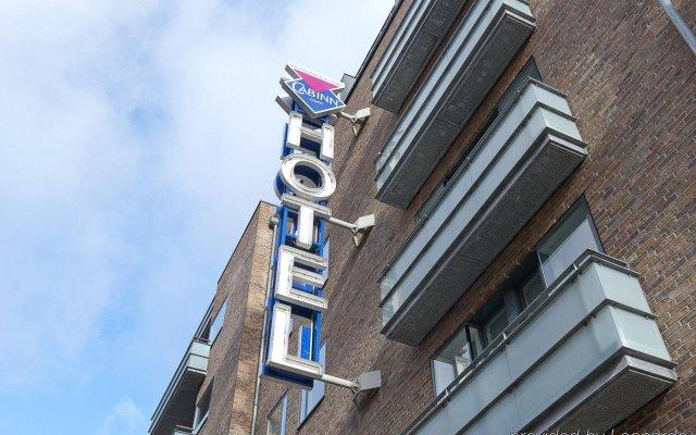 Hotel Cabinn City вид на фасад