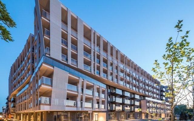 Апартаменты Tower Apartments вид на фасад