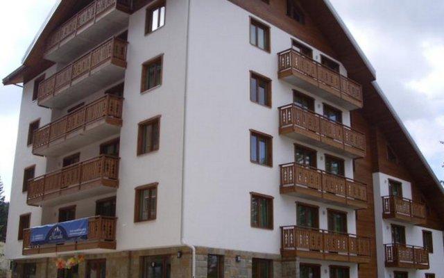 Отель Nevada Apartments Болгария, Пампорово - отзывы, цены и фото номеров - забронировать отель Nevada Apartments онлайн вид на фасад