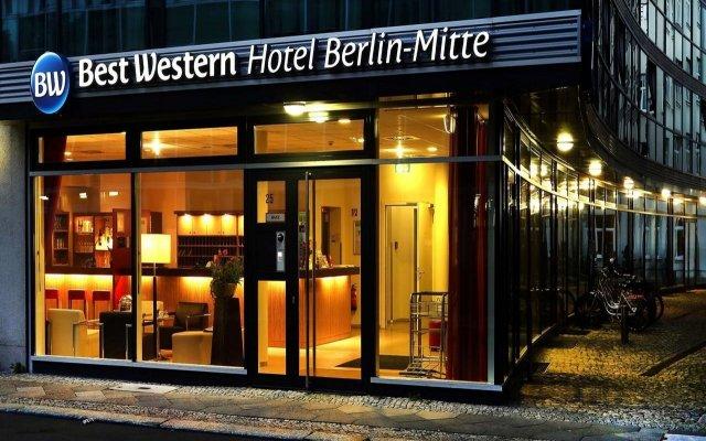 Отель Best Western Hotel Berlin-Mitte Германия, Берлин - 2 отзыва об отеле, цены и фото номеров - забронировать отель Best Western Hotel Berlin-Mitte онлайн вид на фасад