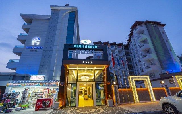 Azak Beach Hotel вид на фасад