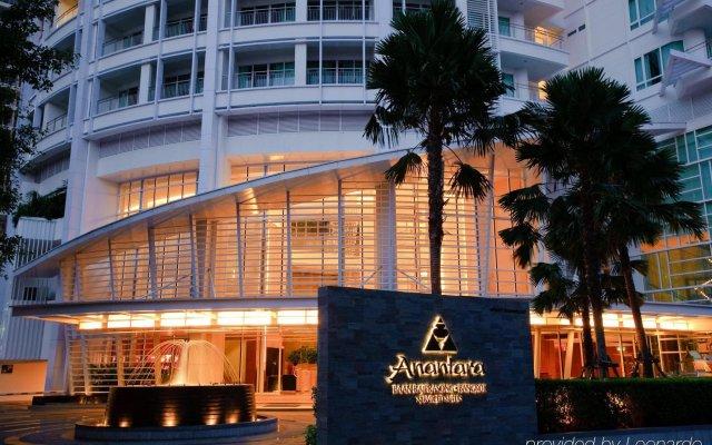Dusit Suites Hotel Ratchadamri, Bangkok Бангкок вид на фасад