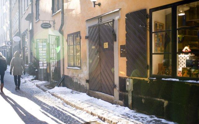 Апартаменты Residence Perseus Apartments Стокгольм вид на фасад
