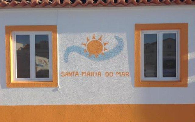 Отель Santa Maria do Mar Guest House Пениче вид на фасад