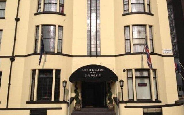 Отель Lord Nelson Hotel Великобритания, Ливерпуль - 1 отзыв об отеле, цены и фото номеров - забронировать отель Lord Nelson Hotel онлайн вид на фасад