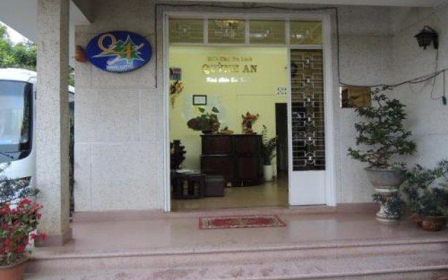 Отель Quynh An Villa Далат вид на фасад