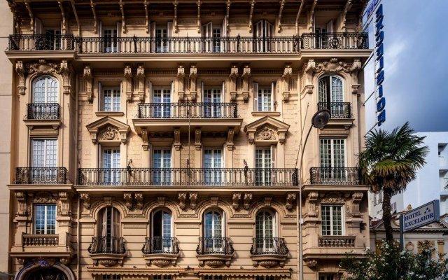 Отель Nice Excelsior Франция, Ницца - 5 отзывов об отеле, цены и фото номеров - забронировать отель Nice Excelsior онлайн вид на фасад