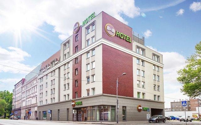 Отель B&B Hotel Katowice Centrum Польша, Катовице - отзывы, цены и фото номеров - забронировать отель B&B Hotel Katowice Centrum онлайн вид на фасад