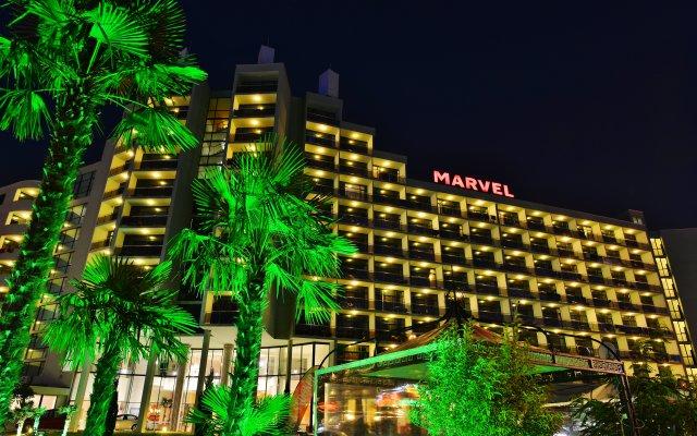 Hotel Marvel Солнечный берег вид на фасад