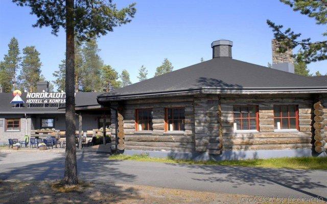 Отель Nordkalotten Hotell & Konferens Швеция, Лулео - отзывы, цены и фото номеров - забронировать отель Nordkalotten Hotell & Konferens онлайн вид на фасад