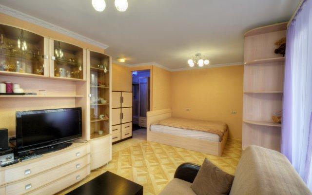 Апартаменты на Открытом шоссе комната для гостей