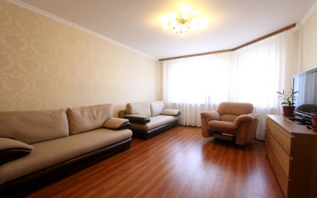 Апартаменты Crocus Expo комната для гостей