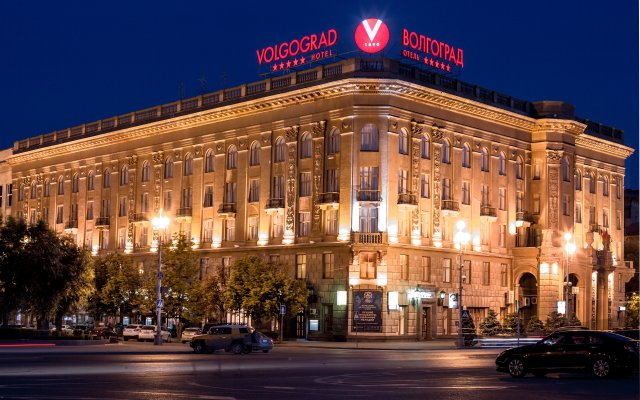 Гостиница Волгоград вид на фасад