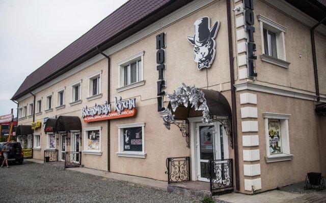 Гостиница Мини-отель Kот в Кургане отзывы, цены и фото номеров - забронировать гостиницу Мини-отель Kот онлайн Курган вид на фасад