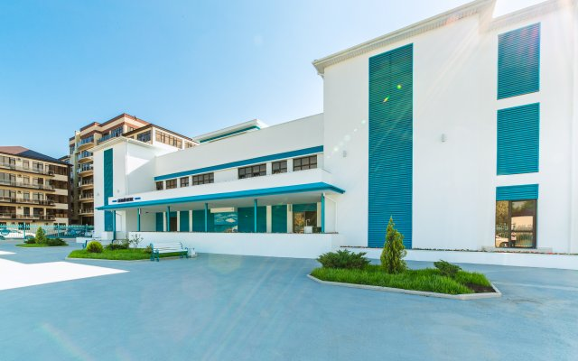 Гостиница Белый Песок в Анапе 7 отзывов об отеле, цены и фото номеров - забронировать гостиницу Белый Песок онлайн Анапа вид на фасад